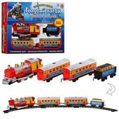 Детский игрушечный набор железной дороги Мэтр Плюс 7017 Красный,29