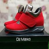Сникерсы женские De Marko Stael F4 Red