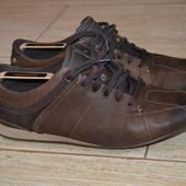 Clarks active air 44.5р. ботинки демисезонные. кожаные. Оригинал туфли