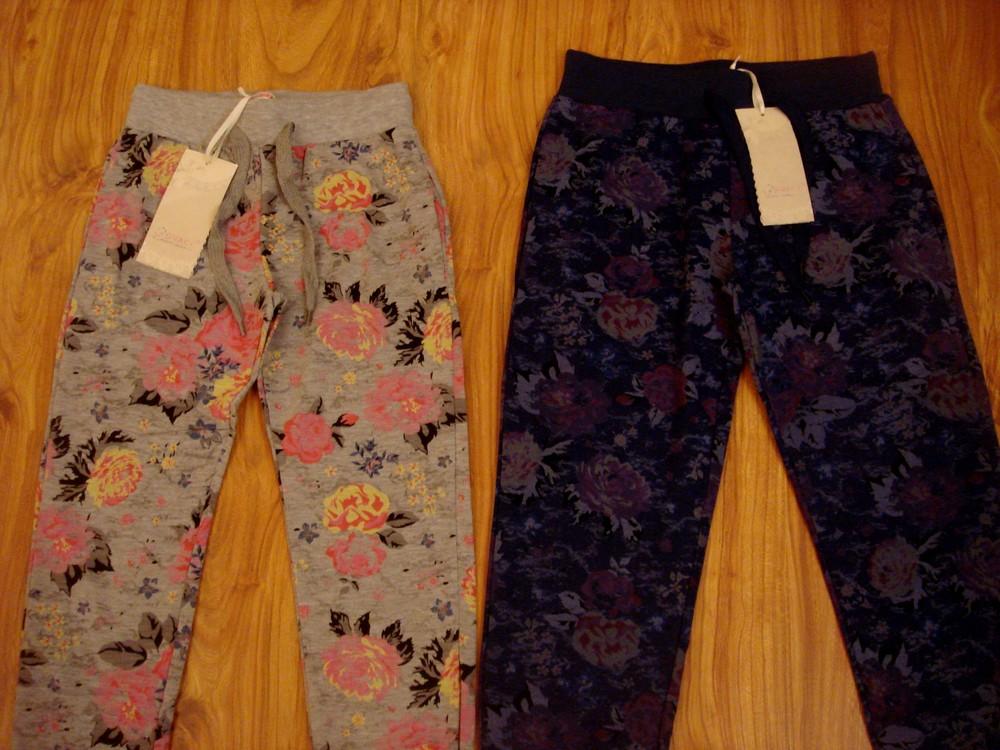 Стильные спортивные брюки штаны grace,рост 140-146 см. фото №1