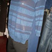 нарядный свитер-блузка