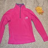 флисовый свитер толстовка девочке Karrimor на 7-8 лет рост 128