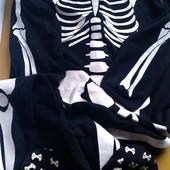 Флисовый слип мужской Скелет