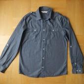 164 см H&M как новая рубашка хлопок. Длина - 67 см, ширина - 48 см, плечи - 40 см, рукав от плеча -