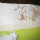 Детское постельное белье и бампер, защита Tutto Lina