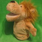 Лев.левеня.львенок.мягкая игрушка.мягка іграшка.мягкие игрушки.кукольный театр.перчатка.театр.