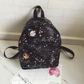 Городской рюкзак в космическою расцветку