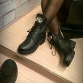 "Ботинки ""Мода"", деми, натур. кожа"