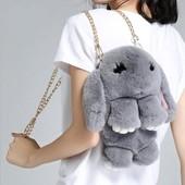 Сумка рюкзак Кролик Фенди 36 см., отличное качество