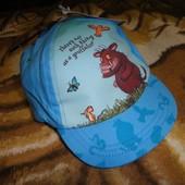"""Новая голубая кепка Tu """"Gruffalo"""" 1-2 года, 48 см"""