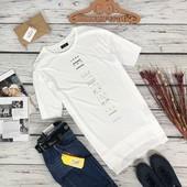 Удлиненная футболка с принтом от Zara  TS5398