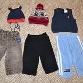 пакет вещей мальчику вещи одним лотом 9-12 мес США