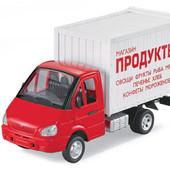 """Машинка Автопарк """"Продукты"""" арт. 9077 А"""