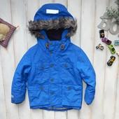 NEXT стильная куртка -парка на мальчика 4 года