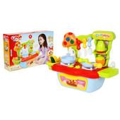 Кухня детская  со звуковыми эффектами арт. 889-56