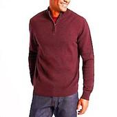 44-46р. Шерстяной джемпер-свитер-кофта цвета фуксии c кашемиром Blue Harbour / M&S