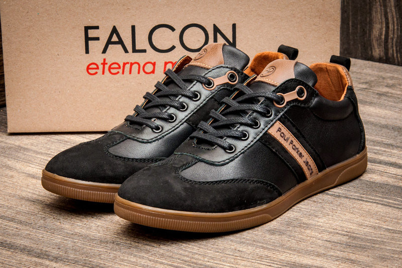 Туфли Falcon Paul Parker Jeans, натур. кожа, р. 40-43, код kv-2874 фото №1
