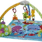 Детский развивающий игровой коврик для младенца Bambi M 1573