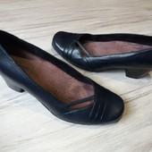 Туфли Clark's UK5.5 25 см. Кожа