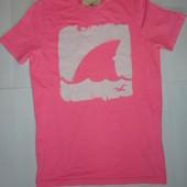 Мужская футболка Hollister р.М (ог 100-108, плечи 40) коттон стрейч