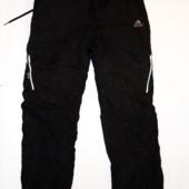 Зимние брюки на флисе р.S-М (талия 70-80, дл. 105)