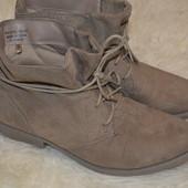 Демисезонные ботинки Atmosphere 39 р., 25.5 см