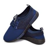 Кроссовки мужские спортивные и легкие - синие (300-nvy)