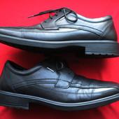 Imac Wide Fitting (43, 28 см) кожаные мембранные туфли блюхеры мужские