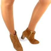 Ботинки 39 р Minelli кожа оригинал демисезон