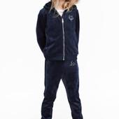 Шикарный велюровый спортивный костюм Love H&M