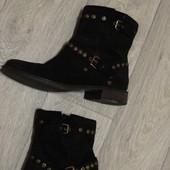 Стильные утепленные ботинки ugg 100% кожа
