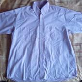 Чоловіча сорочка з коротким рукавом/ Світло- рожевого кольору