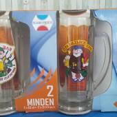 Набор бокалов для пива, 2шт по 0,63 л - 200 грн
