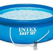 Семейный надувной бассейн Easy Set Intex (56922) (305*76 см) + фильтр-насос
