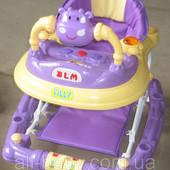 Детские ходунки Tilly Purple с каталкой