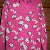 Пижама флисовая на 5-6 лет, рост до 116 см