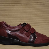 Комфортные комбинированные ортопедические кожаные кроссовки Medicus Германия. 6 1/2 р.