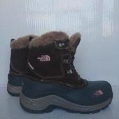 В новом сост. зимние термо ботинки 35-36р The North Face Waterproof