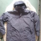 Чоловіча куртка зима осінь сіра