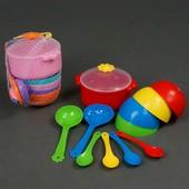 Набор посуды Ромашка 12 элементов Тигрес 39143 посудка Tigres