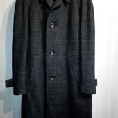 Мужское теплое шерстяное пальто букле c&a. Сток.