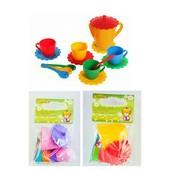 Набор посудки Ромашка люкс 15 элементов Тигрес 39085 игрушечная посуда Tigres