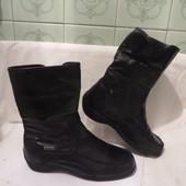 Сапоги ботинки Кожа Германия Caprice 38 размер