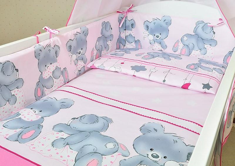 Белье постельное детское защита защитное ограждение бортики бампер наволочка простынь пододеяльник фото №1
