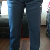 Спортивные теплые штаны на флисе,46-54размеры