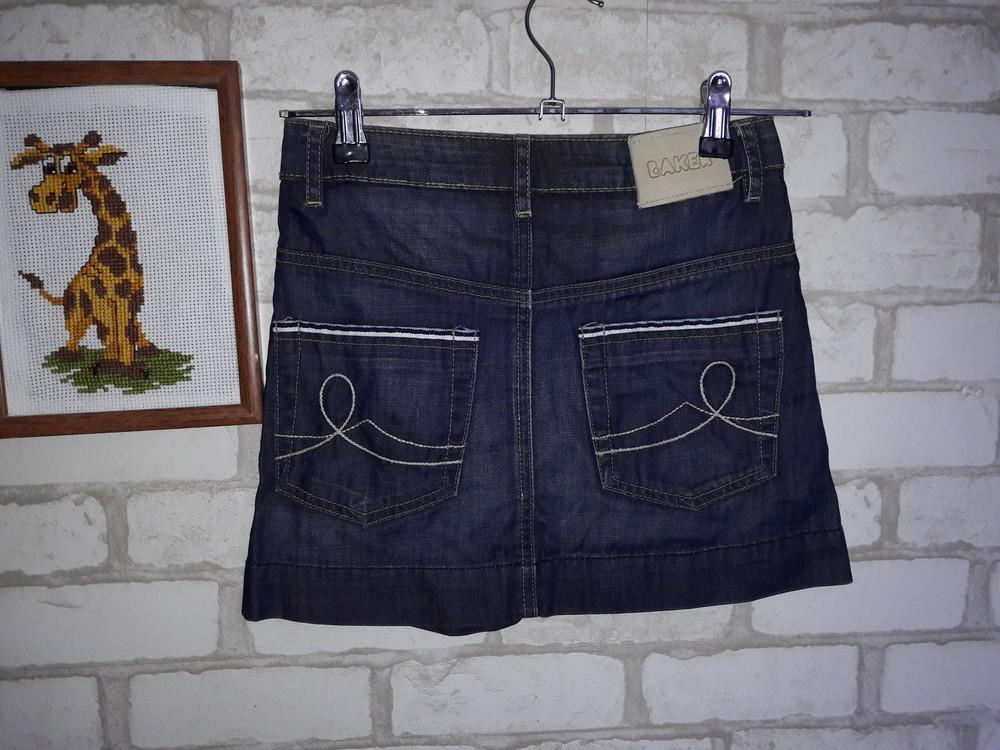 Модная джинсовая юбка ted baker 10л 140 см фото №1