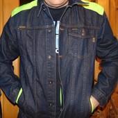 Фирменная джинсовая курточка Crosshatch (Кроссхетч) .л .