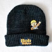 Шапка деми Bob the Builder, подкладка флис, на ОГ 49 см