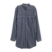 длинная рубашка платье hm