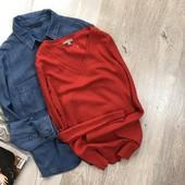 Базовый свитерок с шерстью gap